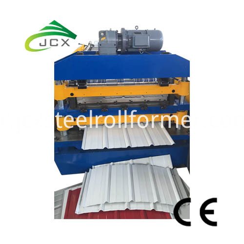 Steel Tuff-rib AG Roofing Panel Roll Forming Machine